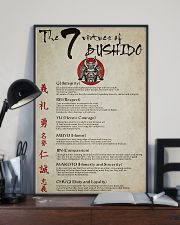 The 7 Virtues Of Bushido 11x17 Poster lifestyle-poster-2