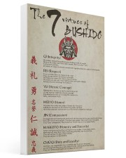 The 7 Virtues Of Bushido 16x24 Gallery Wrapped Canvas Prints thumbnail