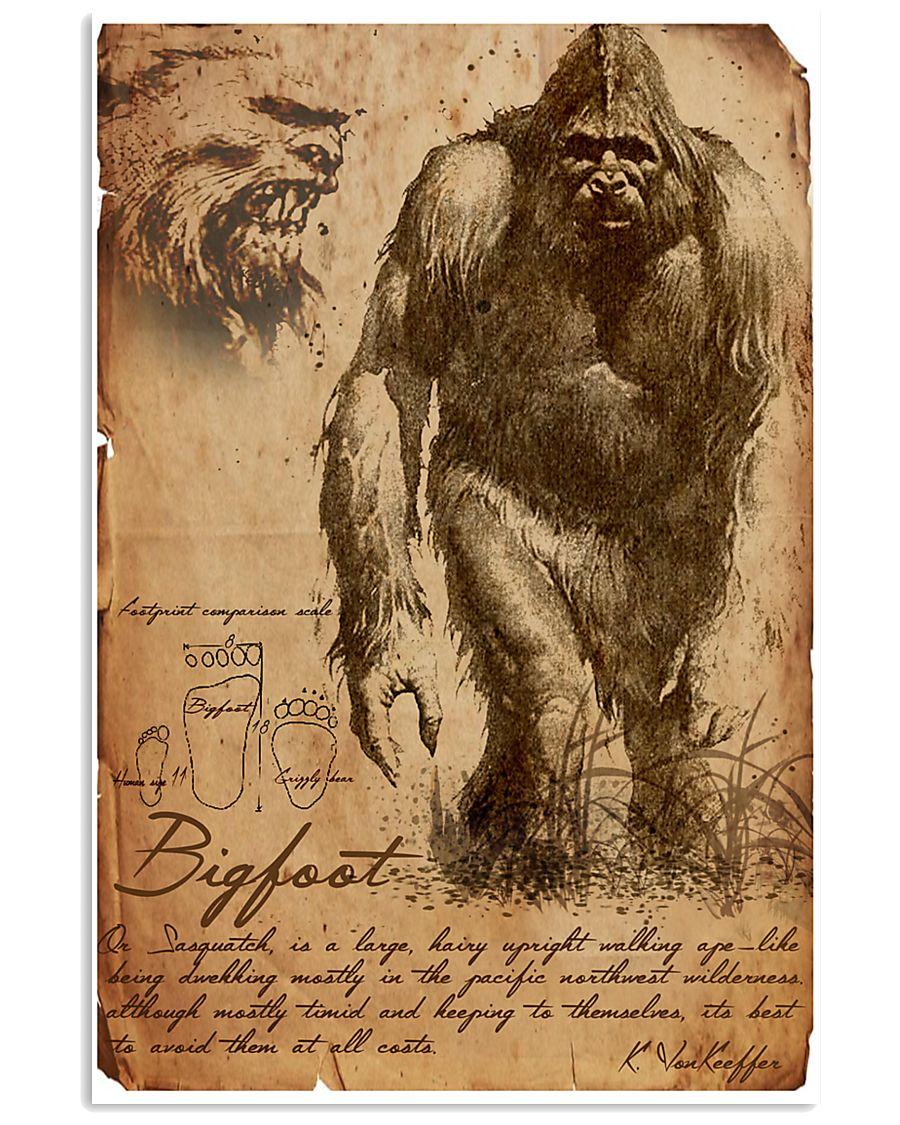 Bigfoot Ology 11x17 Poster