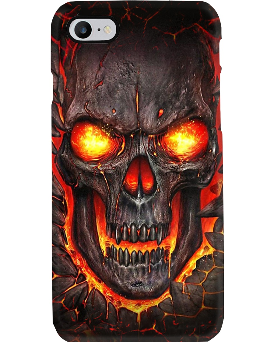 Lava Skull Phone Case