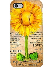 Sunflower To My Granddaughter Phone Case thumbnail
