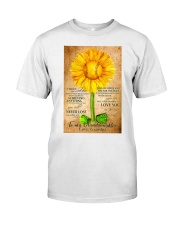 Sunflower To My Granddaughter Classic T-Shirt thumbnail