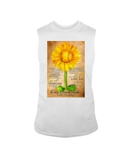 Sunflower To My Granddaughter Sleeveless Tee thumbnail