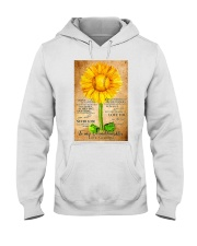 Sunflower To My Granddaughter Hooded Sweatshirt thumbnail