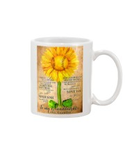 Sunflower To My Granddaughter Mug thumbnail