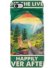 Camping and Golden Retriever Dog Lovers Phone Case thumbnail