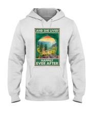 Camping and Golden Retriever Dog Lovers Hooded Sweatshirt thumbnail