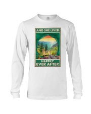 Camping and Golden Retriever Dog Lovers Long Sleeve Tee thumbnail
