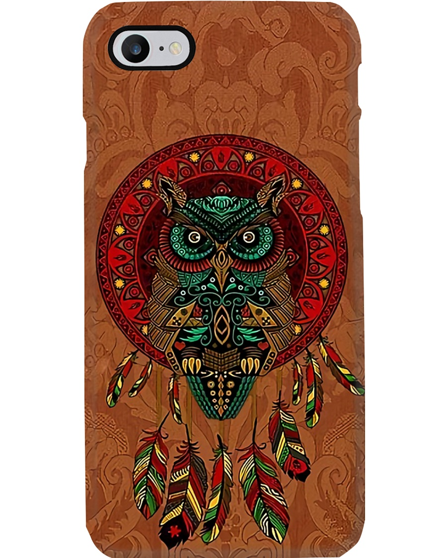 Native Owl Phone Case