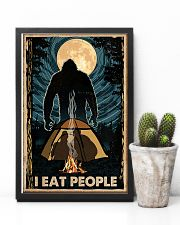 Bigfoot I Eat People Poster Camping Lovers 11x17 Poster lifestyle-poster-8