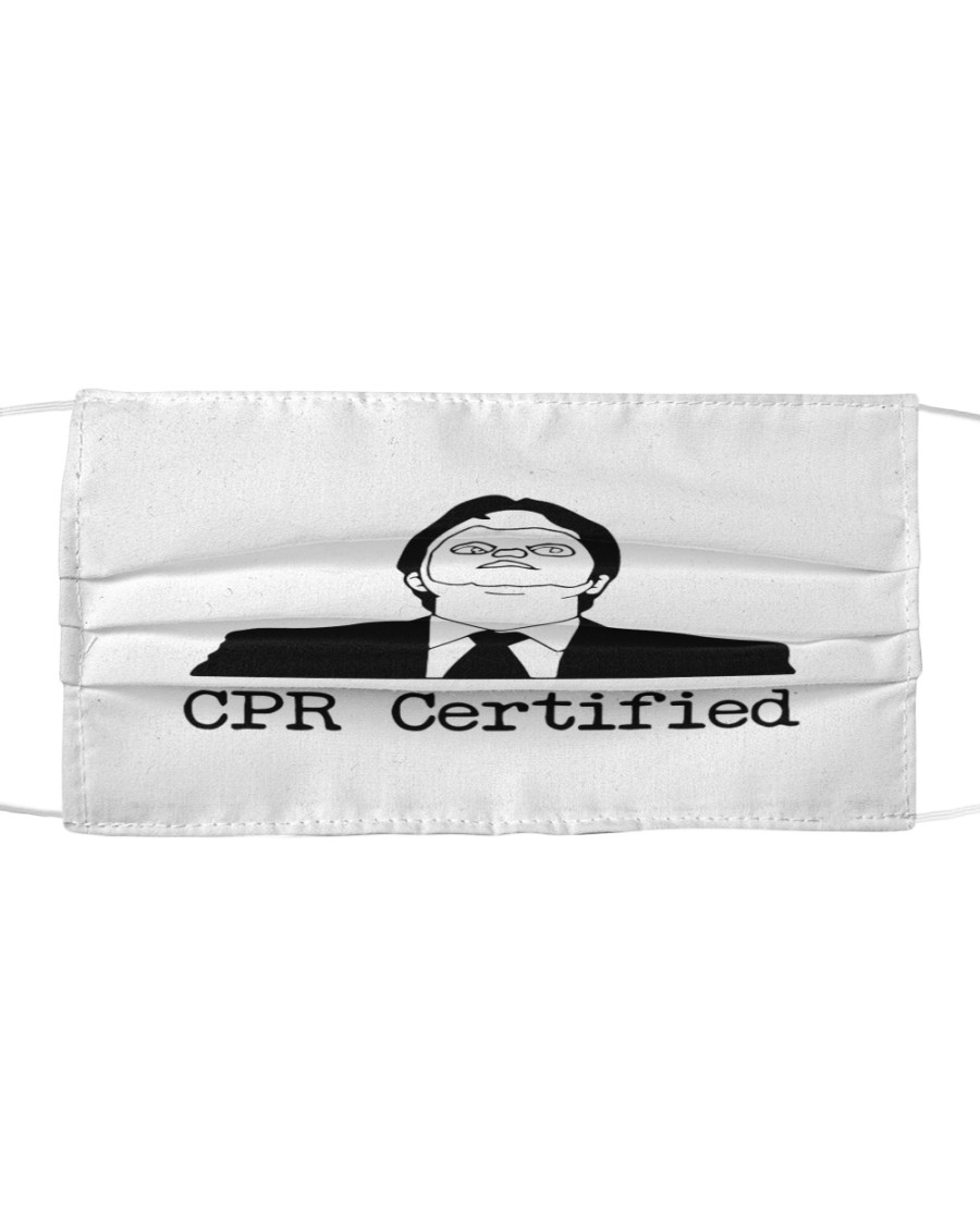 CPR Confirmed Cloth face mask