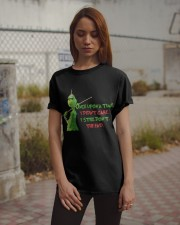 Didnt Care Classic T-Shirt apparel-classic-tshirt-lifestyle-18