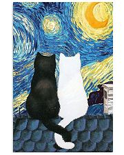 Cat Love Starry Night 11x17 Poster front