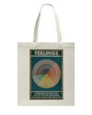 Feelings Are Much Like Waves Tote Bag thumbnail