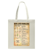 Book Lover Knowledge Tote Bag thumbnail