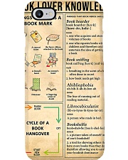 Book Lover Knowledge Phone Case thumbnail