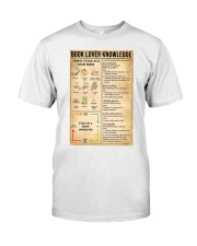 Book Lover Knowledge Classic T-Shirt thumbnail