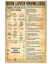 Book Lover Knowledge 11x17 Poster front