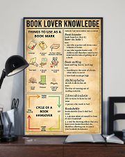 Book Lover Knowledge 11x17 Poster lifestyle-poster-2