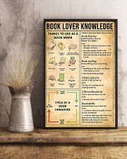 Book Lover Knowledge 11x17 Poster lifestyle-poster-3