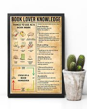 Book Lover Knowledge 11x17 Poster lifestyle-poster-8