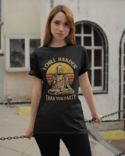 Chill Harder Than You Party Classic T-Shirt apparel-classic-tshirt-lifestyle-19