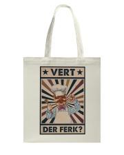Awesome Chef Vert Der Ferk Vintage Tote Bag thumbnail