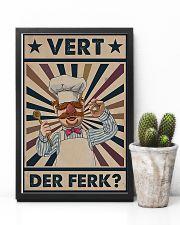 Awesome Chef Vert Der Ferk Vintage 11x17 Poster lifestyle-poster-8