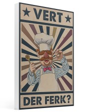 Awesome Chef Vert Der Ferk Vintage 16x24 Gallery Wrapped Canvas Prints thumbnail