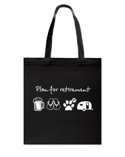 Beer Retirement Tote Bag thumbnail