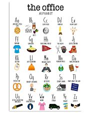 Alphabetical Office 16x24 Poster front