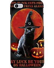 Witch Cat Halloween Phone Case thumbnail