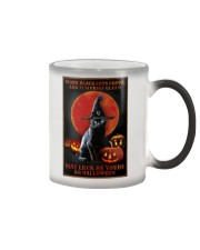 Witch Cat Halloween Color Changing Mug thumbnail