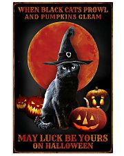 Witch Cat Halloween 11x17 Poster front