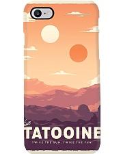 Tatooine Retro Travel Phone Case thumbnail