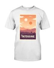 Tatooine Retro Travel Classic T-Shirt thumbnail