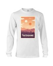 Tatooine Retro Travel Long Sleeve Tee thumbnail