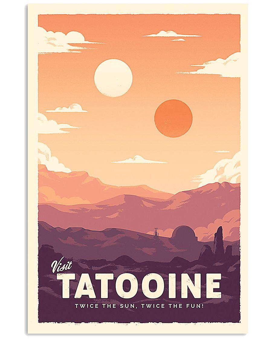 Tatooine Retro Travel 11x17 Poster