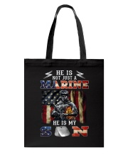 He Is Not Just A Marine Tote Bag thumbnail