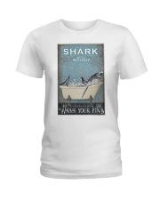 Shark And Co Bath Soap Ladies T-Shirt thumbnail