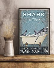 Shark And Co Bath Soap 11x17 Poster lifestyle-poster-3