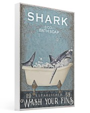 Shark And Co Bath Soap 16x24 Gallery Wrapped Canvas Prints thumbnail