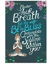Be In Bliss 16x24 Poster front