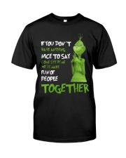 Make Fun Of People Together Classic T-Shirt front