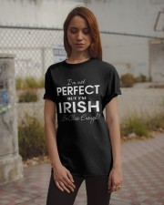 Not Perfect But Close Enough Classic T-Shirt apparel-classic-tshirt-lifestyle-18