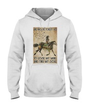 Girl and Into Forest I Go Hooded Sweatshirt thumbnail