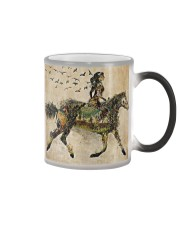 Girl and Into Forest I Go Color Changing Mug thumbnail