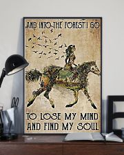 Girl and Into Forest I Go 11x17 Poster lifestyle-poster-2