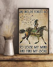 Girl and Into Forest I Go 11x17 Poster lifestyle-poster-3