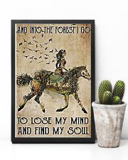 Girl and Into Forest I Go 11x17 Poster lifestyle-poster-8